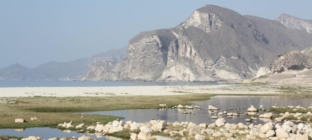 Oman Reise Salalah Mughsail Blowholes