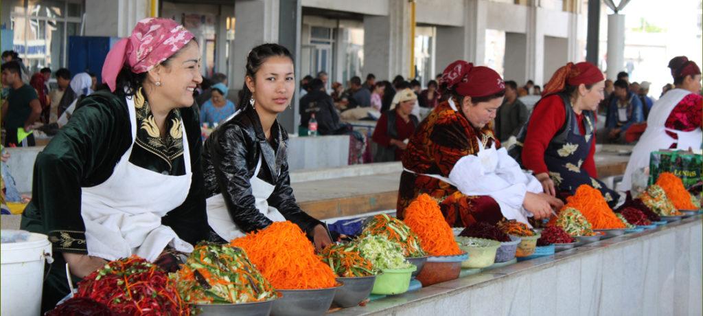 Usbekistan Reise Samarkand Markt Basar