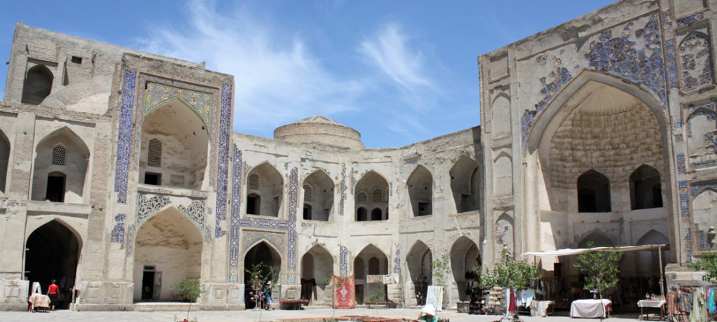 Reise Usbekistan Buchara Medresa