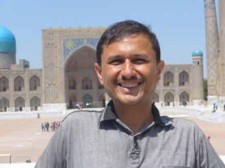 Aziz Azizow Frendenführer Usbekistan Guide
