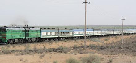 Bahnreisen Usbekistan Eisenbahn