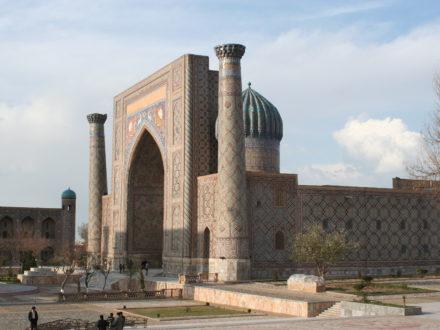 Registan Samarkand Usbekistan Rundreise