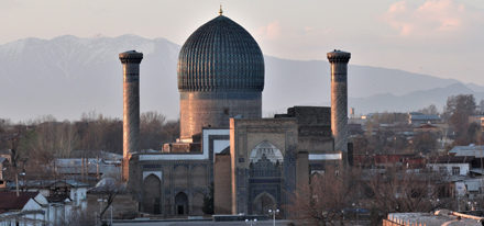 Ulughbek Samarkand Usbekistan Rundreise
