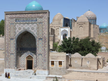 Shahizinda Samarkand Usbekistan Rundreise