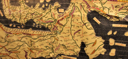 Landkarte islamisch