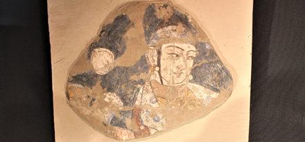 Termez Museum Fresco