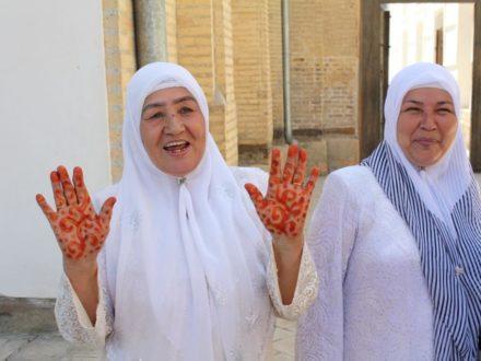 Pilgerinnen Bukhara Studienreise Usbekistan Rundreise
