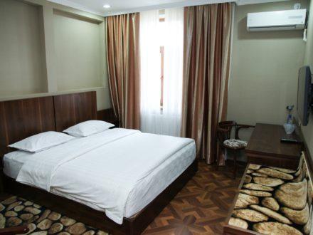 Zimmer Omar Khayam Hotel Buchara Usbekistan