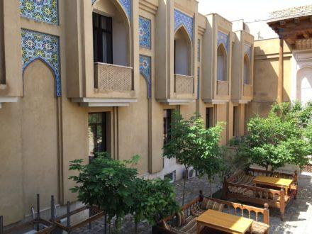 Hof Omar Khayam Hotel Buchara Usbekistan