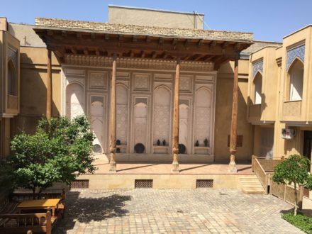 Iwan Omar Khayam Hotel Buchara Usbekistan
