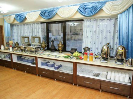Restaurant Omar Khayam Hotel Buchara Usbekistan