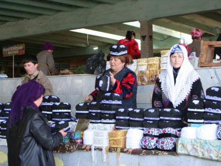 Tibeteika Basar Samarkand Usbekistan Rundreise