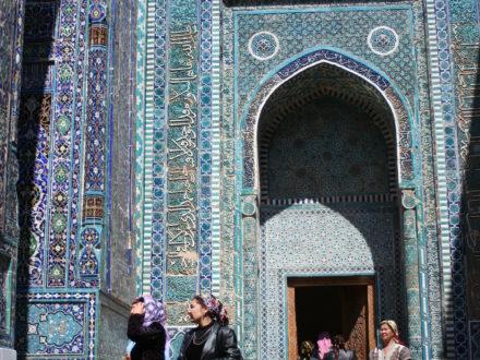 Shahizinda Samarkand Usbekistan Rundreise kleine Gruppe