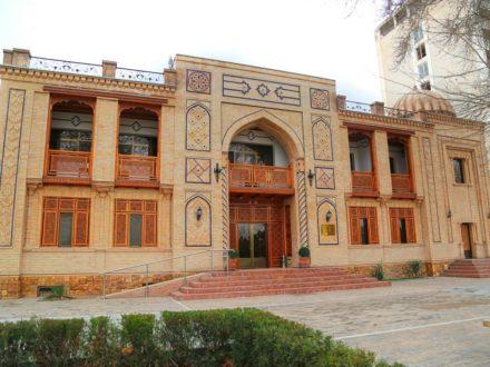 Fassade Malika Prime Hotel Samarkand Usbekistan
