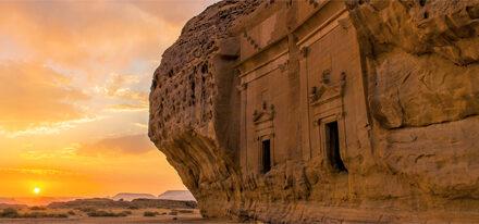 Madain Saleh Saudi-Arabien Studienreise